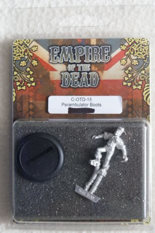 Westwind 28mm Empire Of The Dead C-OTD-15 Perambulator Boots